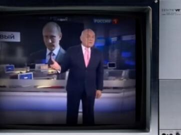 """Співак Професор Лебединський закликав ввімкнути мізки. Новий кліп """"Ватники"""" підірвав ютуб. Сам автор назвав свій твір: """"маленькі ліки від сказу"""", що охопила шанувальників режиму президента РФ Володимира Путіна."""