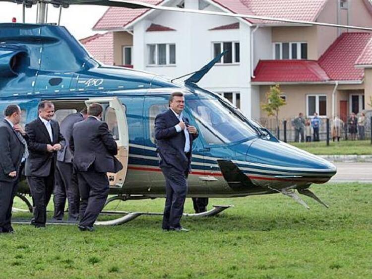 Прокурорсько-судовий абсурд – або як Януковичу і досі хочуть будувати вертольотний парк