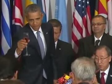 Обама проігнорував Путіна. Сніданок лідерів країн-учасниць 70-ї сесії Генасамблеї ООН