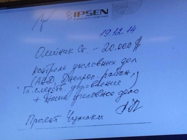 Чорна бухгалтерія партії УКРОП - скільки грошей давали депутатам і скільки вкладали в рейдерство. Фото вилучених паперів.